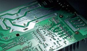 Кондиционеры LG, Daikin, Mitsubishi и General. Кондиционер серии Premium Inverter SRK50ZM-S/SRC50ZM-S. Печатная плата с силиконовым покрытием